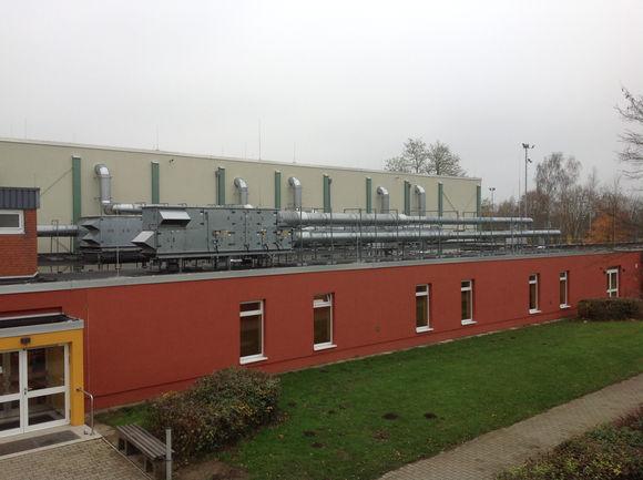 Bild: Sporthalle am Schulzentrum Dannenberg