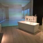 Bild: modernes Badezimmer auf einer Messe