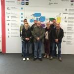 Bild: Besuch auf der ISH 2015 in Frankfurt